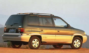 Mazda MPV Repair Service Manual PDF 1996-1999