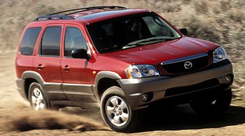 Mazda Tribute Repair Service Manual PDF 2001-2004